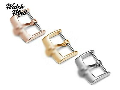 Fits OMEGA Buckle Clasp For Watch Leather Strap Band Silver Yellow Gold Rose • 10.99£