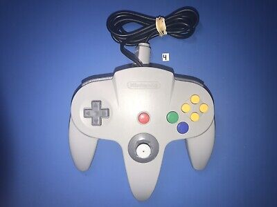 $ CDN35.84 • Buy N64 Gray Controller Good Stick Tested Nintendo 64 Authentic Official OEM