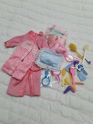 $ CDN10 • Buy Vintage Barbie Pink Sleep Set #7754, 1974, Exc. Cond With Accessories Lot