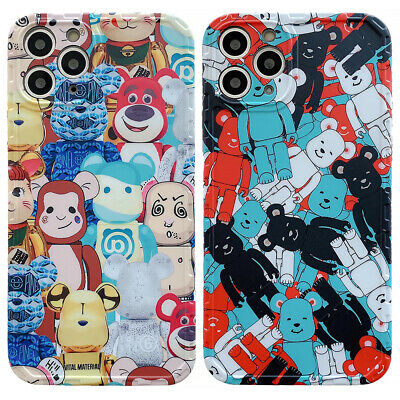 $14.45 • Buy BAPE Bearbrick Bears TPU Phone Cover Case For IPhone 11 Pro Max XS XR 7 8 SE 2nd