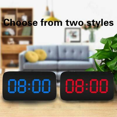 AU19.99 • Buy LED Digital Snooze Electronic Clock Alarm Clock With USB Charging Night Lights