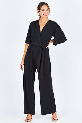 AU129.95 • Buy NEW Bird By Design Womens Jumpsuits The Bell Sleeve Jumpsuit - Bottoms