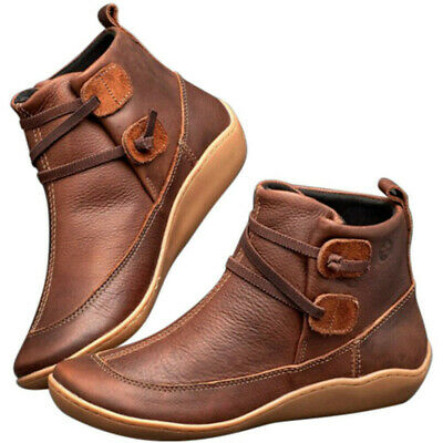 Women's Casual Arch Support Wedge Boots Multi Colors Platform Shoes Sneakers • 21.99£