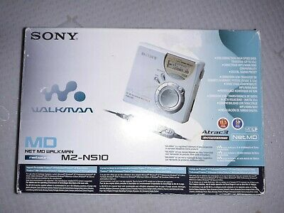Sony Net MD Walkman MZ-N510 Personal MiniDisc Player Recorder Boxed  • 59.99£