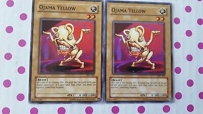 AU3.50 • Buy 2x Yu-gi-oh Cards- Ojama Yellow - IOC-001 - Common Unlimited - Invasion Of Chaos