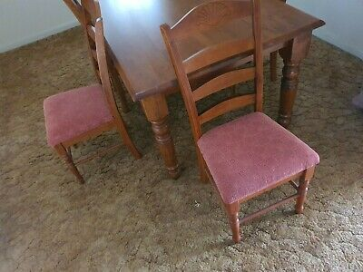 AU120 • Buy 6 Seat Dining Table And Chairs