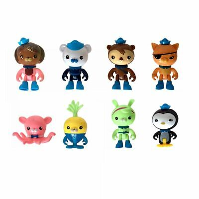 Octonauts Octo-Crew 8 Pcs Action Figure Kid Childrens Toy Doll Gift Collection • 5.88£