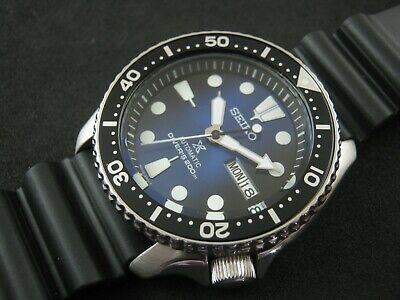 $ CDN316.37 • Buy SEIKO SKX007 Mod PROSPEX Dial NH36 Hack Winding Water Proof Test Nice Collection
