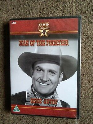 Man Of The Frontier Dvd, Gene Autry, Brand New Sealed Freepost • 2.99£