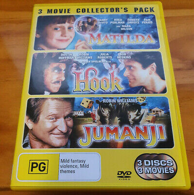 AU10.30 • Buy Matilda Hook Jumanji 3 Movie Collector's Pack