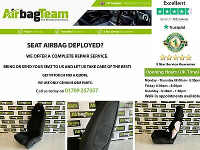 £200 • Buy Bmw Car Seat And Airbag Complete Repair Service Reconditioning Service