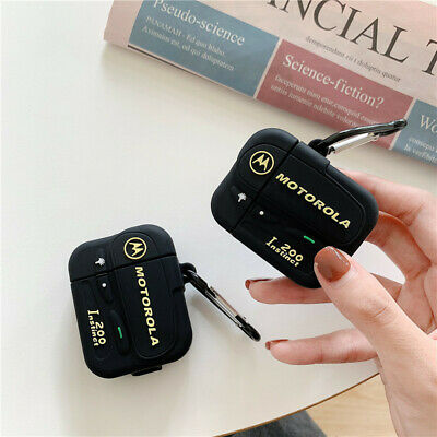 $ CDN6.20 • Buy For AirPods Pro 2 1 Case Retro Beep Pager Silicone Earphone Charging Cover