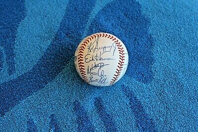 $ CDN145.25 • Buy 1990 Seattle Mariners Team Autographed Baseball 16 Nice Signatures Nm-mt