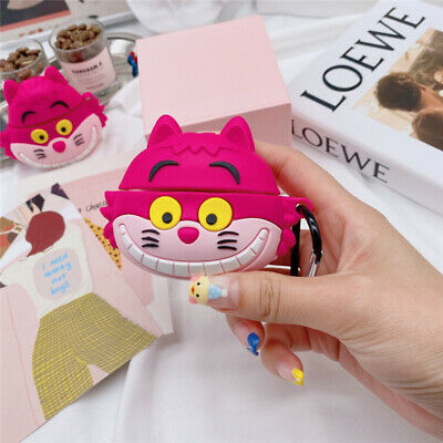 $ CDN7.91 • Buy For AirPods Pro 2 1 Case 3D Cartoon Cat Silicone Earphone Charging Cover