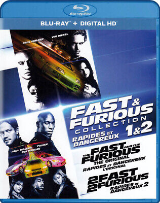 $ CDN27.99 • Buy Fast & Furious Collection 1 & 2 (the Fast & The Furious / 2 Fast 2 Fur (blu-ray)