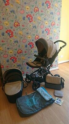 View Details Jane Crosswalk + Nano All Terrain Travel System / Pram / Pushchair + Extras • 149.00£