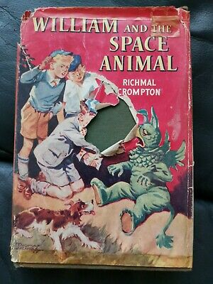 William And The Space Animal Richmal Crompton 1956 HB Book Vintage • 19.99£