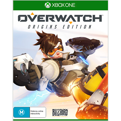 AU26.65 • Buy Overwatch Origin Edition - XBOX ONE Game As New