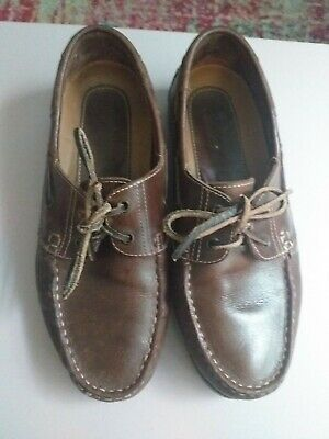 Mens Deck/boat Shoe  Brand New Size 9uk 43eu Real Leather  Yachtsman  • 25£