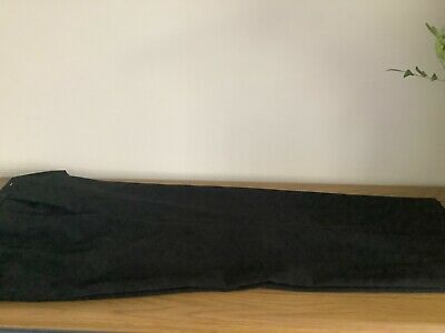 Ladies Next Black Slouch Trousers Size 14 • 5£