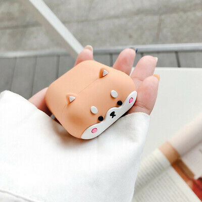 $ CDN5.35 • Buy For AirPods Pro 2 1 Case Cute Corgi Protective Silicone Earphone Charging Cover