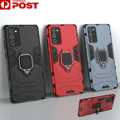 AU12.99 • Buy For Samsung Note20 S20 Ultra S10 S9 S8 Plus Case Armor Shockproof Ring Cover