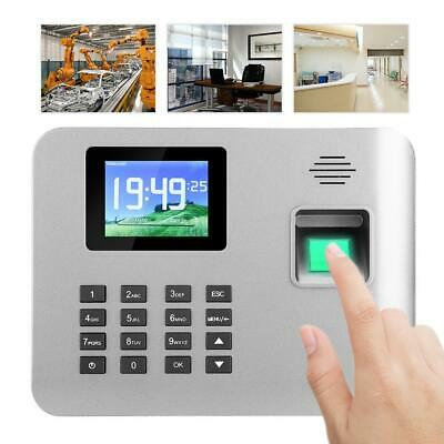 2.8in LCD Office Employees Attendence Machine Biometric Fingerprint Time Clock • 54.88£