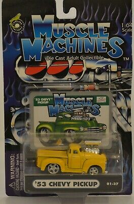 AU23.20 • Buy Muscle Machines (Yellow) '53 Chevy Pickup