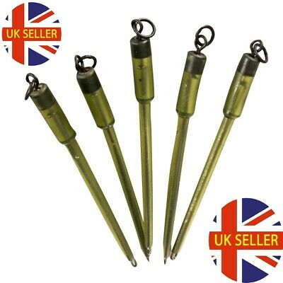 5 Translucent Green OR Brown Quick Change Solid PVA Bag Stems For Carp Fishing  • 3.99£