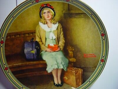 $ CDN5.66 • Buy NORMAN ROCKWELL  A Young Girl's Dream  Knowles Collector's Plate 1985