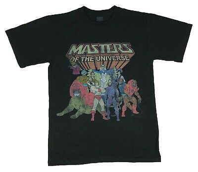 $11.99 • Buy He-Man And The Masters Of The Universe Group Portait Logo Men's T Shirt