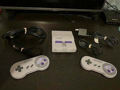 $ CDN200 • Buy Super Nintendo Classic Console Snes Classic Modded AUthentic OEM