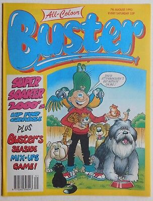 £2.99 • Buy BUSTER COMIC - 7th August 1993