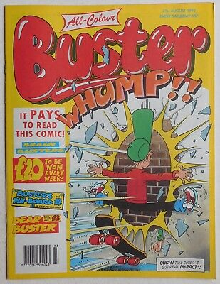 £2.99 • Buy BUSTER COMIC - 21st August 1993