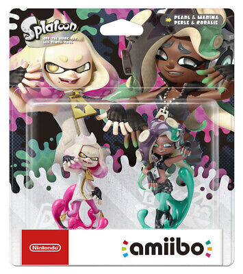 AU57.95 • Buy Nintendo Off The Hook Pearl & Marina Inkling Girls Double Pack Amiibo Splatoon C