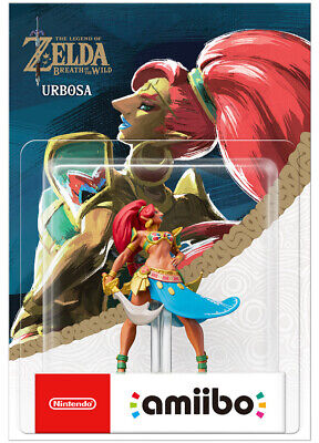 AU29.95 • Buy Nintendo Urbosa Amiibo The Legend Of Zelda Breath Of The Wild NEW