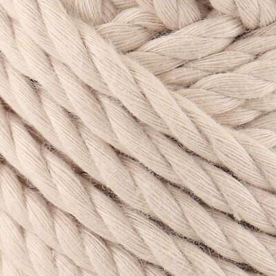 Natural Cotton Craft Rope Jute Boat String Chord Twisted Decking 10mm And 25mm • 1.99£