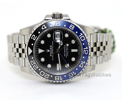 $ CDN22235.49 • Buy Rolex GMT-Master II 126710blnr Batman Jubilee Bracelet Mens Watch