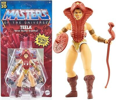 $28.45 • Buy ✅2020 Masters Of The Universe Origins Teela Figure Walmart Exclusive✅ Brand New