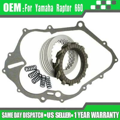 $37.49 • Buy For Yamaha 660 Raptor Clutch Kit With Heavy Duty Springs With Gasket 2001-2005