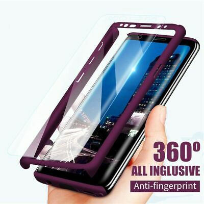 AU15.23 • Buy 360 Full Protection Phone Case Hard Cover For Samsung S8 S9 S10 S20 Note 8 9