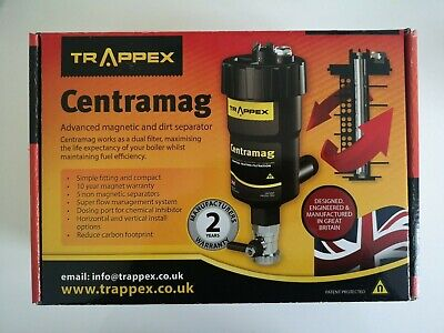 £42.99 • Buy TRAPPEX Centramag Central Heating Filter