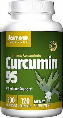 Jarrow Formulas Curcumin 95, 500 Milligrams 120 Capsules - (Pack Of 3) • 47.69£