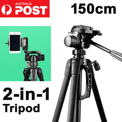 AU35.99 • Buy Weifeng Professional Tripod For Digital Camera DSLR Camcorder Video Tilt Monopod