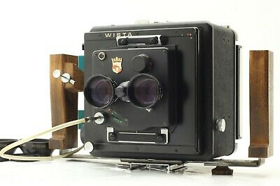 £700.19 • Buy Rare!【EXC+++++】WISTA Body W/ Wistar TLR 130mm F/5.6 Lens Grip From JAPAN #667A