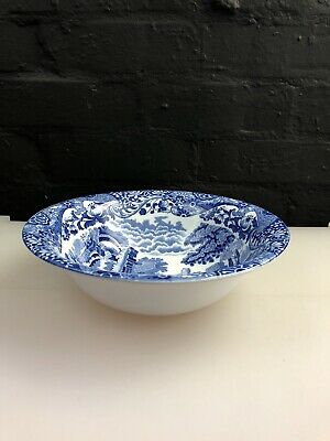 £24.99 • Buy Copeland Spode Italian Blue Serving Dish Bowl 24 Cm X 7 Cm Old Stamp 5 Available