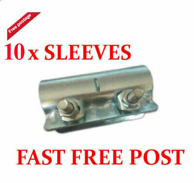 10 X Scaffolding Scaffold Fittings Sleeve Couplers Clamps FAST FREE COURIER SHIP • 29.99£