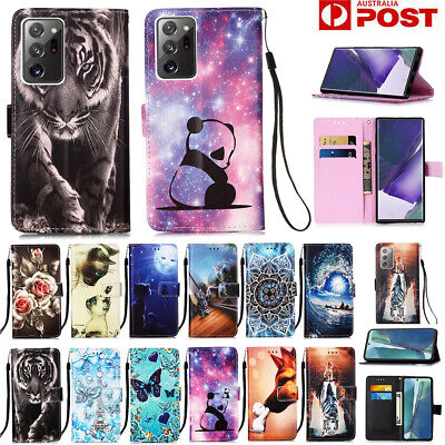 AU13.89 • Buy For Samsung Note20 S20 FE Ultra S10 S8 S9 Plus Case Wallet Leather Flip Cover