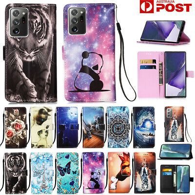 AU13.89 • Buy For Samsung S21/S20 FE Note20 Ultra S10 S9 8 Plus Case Wallet Leather Flip Cover