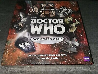 Doctor Who BBC DVD Board Game - Brand New Sealed 50 Years Age 8+ • 3.19£